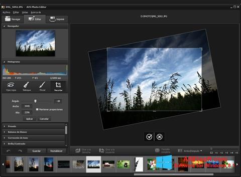 スクリーンショット Photo! Editor Windows 8.1版