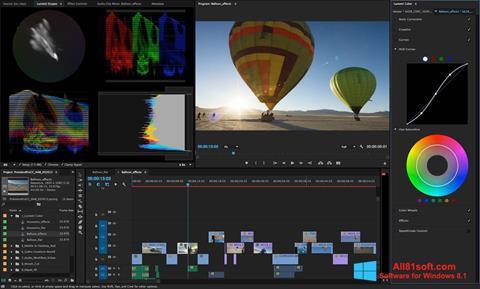 スクリーンショット Adobe Premiere Pro Windows 8.1版