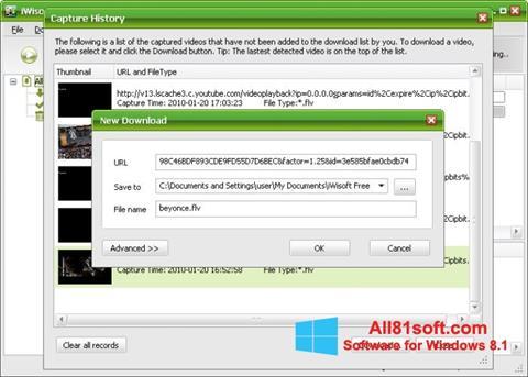 スクリーンショット Free Video Catcher Windows 8.1版