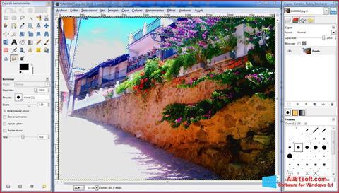 スクリーンショット GIMP Windows 8.1版