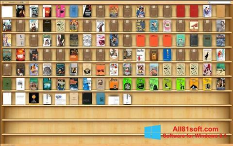 スクリーンショット Bookshelf Windows 8.1版