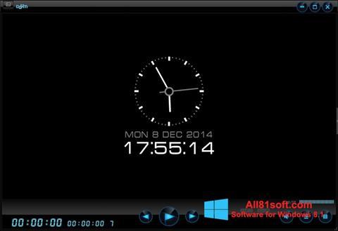 スクリーンショット Daum PotPlayer Windows 8.1版