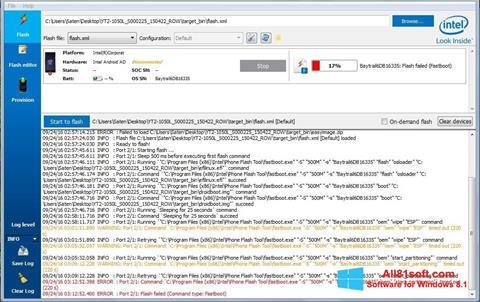 スクリーンショット FlashBoot Windows 8.1版
