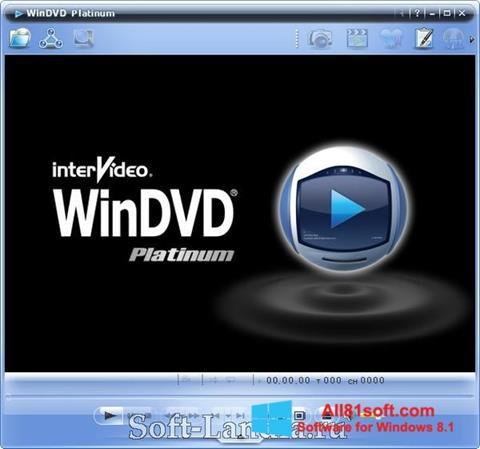スクリーンショット WinDVD Windows 8.1版