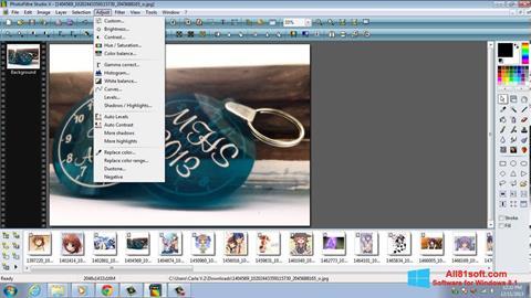スクリーンショット PhotoFiltre Studio X Windows 8.1版