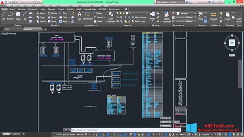 スクリーンショット AutoCAD Electrical Windows 8.1版