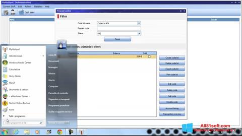 スクリーンショット MyHotspot Windows 8.1版