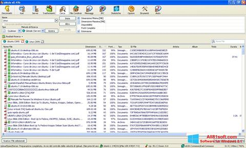 スクリーンショット eMule Windows 8.1版