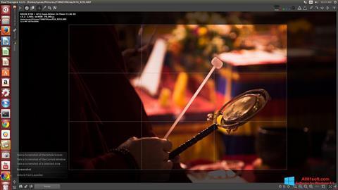 スクリーンショット RawTherapee Windows 8.1版
