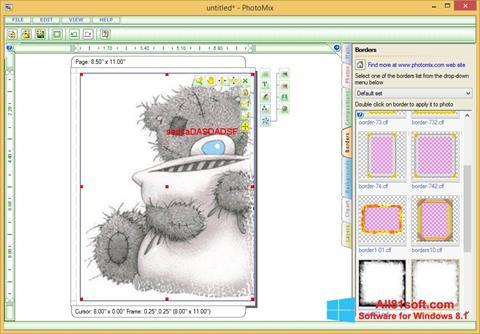 スクリーンショット PhotoMix Collage Windows 8.1版